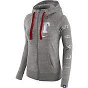 Nike Women's Texas Rangers Vintage Full-Zip Hoodie