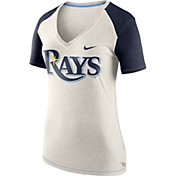 Nike Women's Tampa Bay Rays Fan V-Neck Shirt