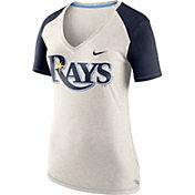 Nike Women's Tampa Bay Rays Fan V-Neck Shirt