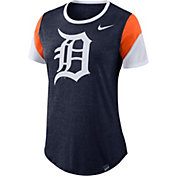 Nike Women's Detroit Tigers Tri-Blend T-Shirt