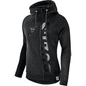 Nike Women's Chicago Bulls Black Full-Zip Hoodie