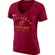 Nike Women's Cleveland Cavaliers Dri-FIT Red V-Neck T-Shirt