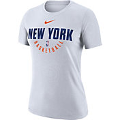 Nike Women's New York Knicks Dri-FIT White Practice T-Shirt