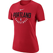 Nike Women's Portland Trail Blazers Dri-FIT Red Practice T-Shirt