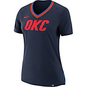 Nike Women's Oklahoma City Thunder Fan V-Neck T-Shirt