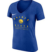Nike Women's Golden State Warriors Dri-FIT Royal V-Neck T-Shirt
