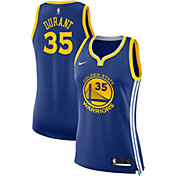 8c2f6da6ec6 Product Image · Nike Women's Golden State Warriors Kevin Durant #35 Royal  Dri-FIT Swingman Jersey