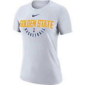 Nike Women's Golden State Warriors Dri-FIT White Practice T-Shirt