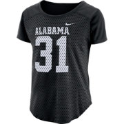 Nike Women's Alabama Crimson Tide Modern Fan Black Jersey Top