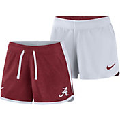 Nike Women's Alabama Crimson Tide Crimson/White Touch Reversible Performance Shorts