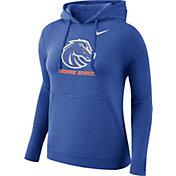 Nike Women's Boise State Broncos Blue Club Pullover Hoodie
