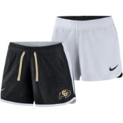 Nike Women's Colorado Buffaloes Black/White Touch Reversible Performance Shorts