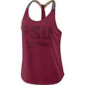 Nike Women's Florida State Seminoles Garnet Dri-FIT Elastika Tank Top