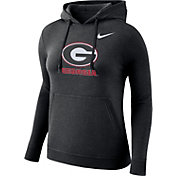 Nike Women's Georgia Bulldogs Club Black Pullover Hoodie
