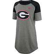 Nike Women's Georgia Bulldogs Grey Jersey Dress