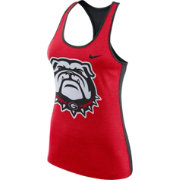Nike Women's Georgia Bulldogs Red Dri-FIT Touch Tank Top