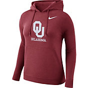 Nike Women's Oklahoma Sooners Crimson Club Pullover Hoodie