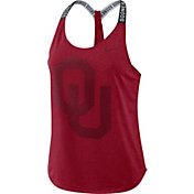 Nike Women's Oklahoma Sooners Crimson Dri-FIT Elastika Tank Top