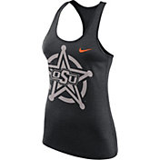 Nike Women's Oklahoma State Cowboys Black Dri-FIT Touch Tank Top