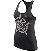 Nike Women's Oklahoma State Cowboys Black Dri-FIT Touch Tank Top