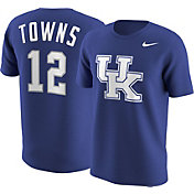 Nike Men's Kentucky Wildcats Karl-Anthony Towns #12 Blue Future Star Replica Basketball Jersey T-Shirt