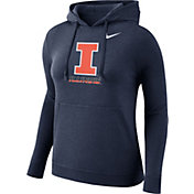 Nike Women's Illinois Fighting Illini Blue Club Pullover Hoodie