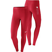 Nike Women's Ole Miss Rebels Red Pro Tights