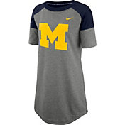 Nike Women's Michigan Wolverines Grey Jersey Dress