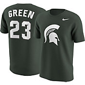 Nike Men's Michigan State Spartans Draymond Green #23 Green Future Star Replica Basketball Jersey T-Shirt