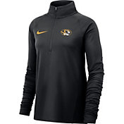 b08f918f2544 Product Image · Nike Women s Missouri Tigers Core Half-Zip Black Shirt