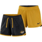Nike Women's Missouri Tigers Black/Gold Touch Reversible Performance Shorts