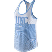 Nike Women's North Carolina Tar Heels Carolina Blue Modern Sport Dri-Fit Dri-Blend Tank Top