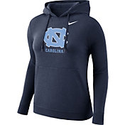 Nike Women's North Carolina Tar Heels Navy Club Pullover Hoodie