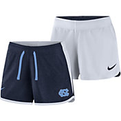 Nike Women's North Carolina Tar Heels Navy/White Touch Reversible Performance Shorts
