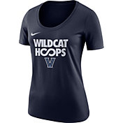 Nike Women's Villanova Wildcats Navy 'Wildcat Hoops' Basketball T-Shirt