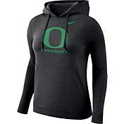 Nike Women's Oregon Ducks Club Pullover Black Hoodie