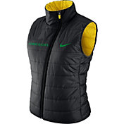 Nike Women's Oregon Ducks Black Reversible Vest
