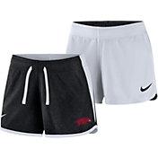Nike Women's Arkansas Razorbacks Black/White Touch Reversible Performance Shorts