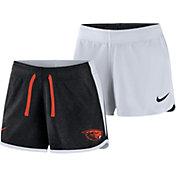 Nike Women's Oregon State Beavers Black/White Touch Reversible Performance Shorts