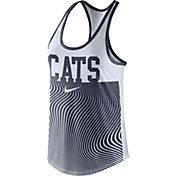 Nike Women's Arizona Wildcats Navy Modern Sport Dri-Fit Dri-Blend Tank Top