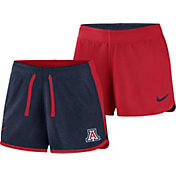 Nike Women's Arizona Wildcats Navy/Cardinal Touch Reversible Performance Shorts