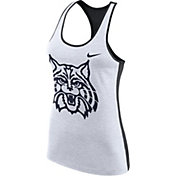 Nike Women's Arizona Wildcats White Dri-FIT Touch Tank Top