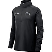 Nike Women's TCU Horned Frogs Core Half-Zip Black Shirt