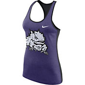 Nike Women's TCU Horned Frogs Purple Dri-FIT Touch Tank Top