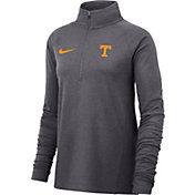 Nike Women's Tennessee Volunteers Grey Core Half-Zip Shirt