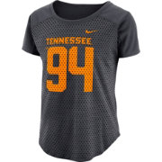 Nike Women's Tennessee Volunteers Antracite Modern Fan Jersey Top