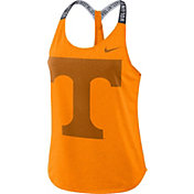 Nike Women's Tennessee Volunteers Tennessee Orange Dri-FIT Elastika Tank Top