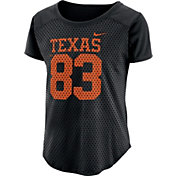 Nike Women's Texas Longhorns Modern Fan Black Jersey Top