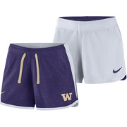 Nike Women's Washington Huskies Purple/White Touch Reversible Performance Shorts