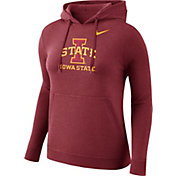 Nike Women's Iowa State Cyclones Cardinal Club Pullover Hoodie